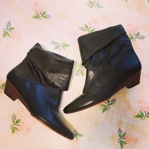 Frye slouched ankle boots
